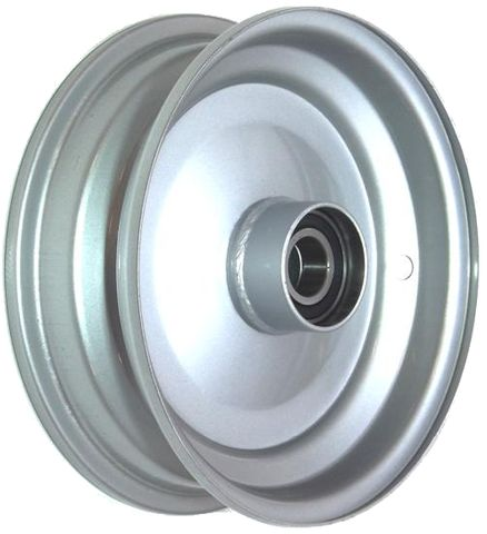 "8""x2.50"" Steel Rim, 52mm Bore, 85mm Hub Length, 52mm x 1"" High Speed Bearings"