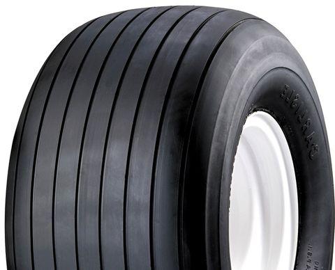 """ASSEMBLY - 8""""x5.50"""" Galv Rim, 16/650-8 4PR V3503 Multi-Rib Tyre, 25mm Keyed Bush"""