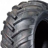 """ASSEMBLY - 8""""x7.00"""" Galv Rim, 18/950-8 4PR HF255 Lug Tyre, NO BRGS/BUSHES"""