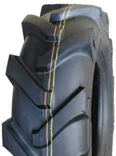 """ASSEMBLY - 8""""x2.50"""" Steel Rim, 400-8 4PR V8501 Lug Tyre, 1"""" HS Bearings"""