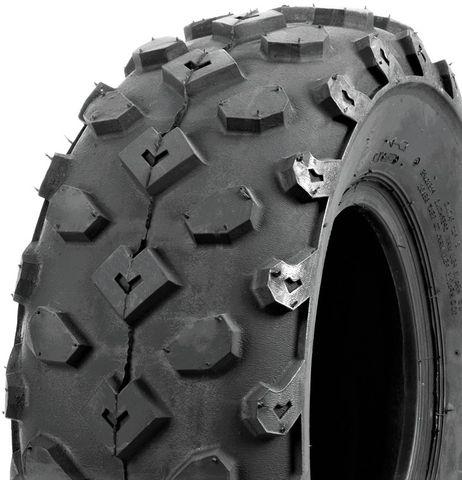 """ASSEMBLY - 10""""x6.00"""" Galv HD Rim, 5/4½"""" PCD, 22/8-10 4PR HF246 Knobbly ATV Tyre"""