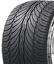 "ASSEMBLY - 12""x7.00"" Galv Rim, 4/4"" PCD, 235/30-12 6PR A034 Golf Cart Tyre"