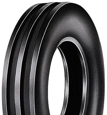650-16 6PR TT HF257 Duro 3-Rib Front Tractor Tyre