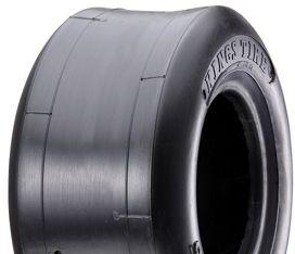 "ASSEMBLY - 6""x82mm Steel Rim, 13/500-6 4PR Smooth (Slick) Tyre, ¾"" Fl Brgs"