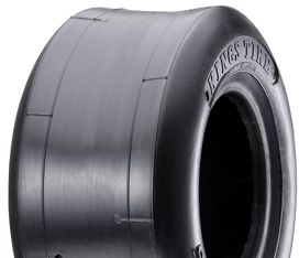 "ASSEMBLY - 6""x82mm Steel Rim, 13/500-6 4PR Smooth (Slick) Tyre, ½"" Nyl Bushes"