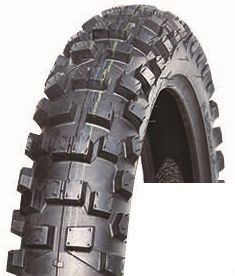 BUNDLE (3x) - 100/100-18 6PR TT EGM069 Evergreat Knobby Motorcycle Tyres