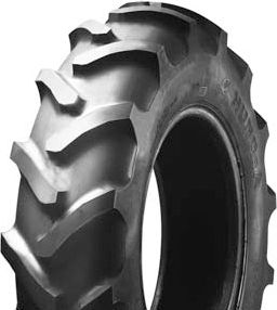 7-12 6PR TT HS458 Tiron R-1 Tractor Lug Tyre & Tube Set (replaces 180/85D12)