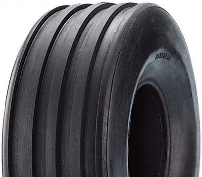 """ASSEMBLY - 6""""x82mm Steel Rim, 15/600-6 4PR HF257A 5-Rib Tyre, 16mm FBrgs"""