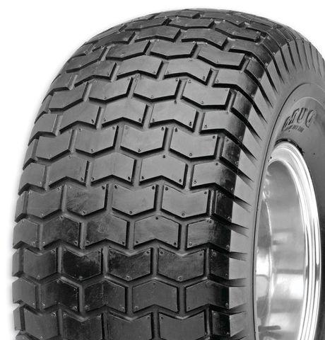 "ASSEMBLY - 8""x4¾"" Plastic Rim, 2"" Bore, 18/650-8 4PR HF224 Turf Tyre, ¾"" FBrgs"