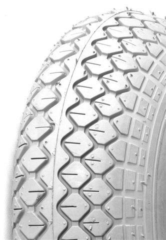 400-4 [P523/C154 Various Brands] Diamond Grey Wheelchair/Mobility Tyre (300x100)