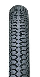 24x1-3/8 [IA2202/HF111 Various Brands] Road Grey Wheelchair Tyre (37-540)