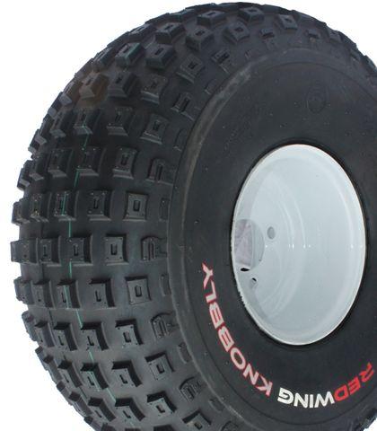 22/11-8 4PR TL Redwing Knobbly ATV Tyre - 670kg Load Rating