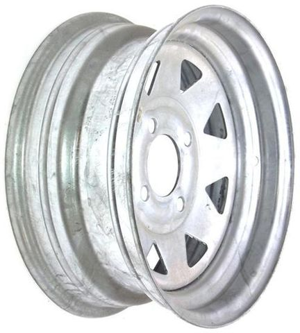 "13""x4.50"" Galvanised Rim, 4/4"" PCD (4/101.6mm PCD)"