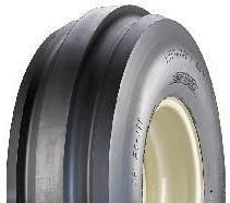9.5L15 8PR TT Forerunner QH621 3-Rib F-2 Front Tractor Tyre (9.5-15)