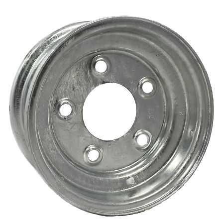 "8""x3.75"" Galvanised Rim, 5/4½"" (5/114.3mm) PCD, 71mm Bore, ET0"