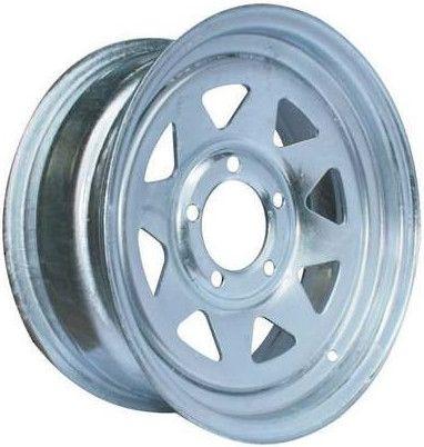 """13""""x6.00"""" Galvanised Rim, 5/4½"""" (5/114.3mm) PCD, 83mm Bore, ET0"""
