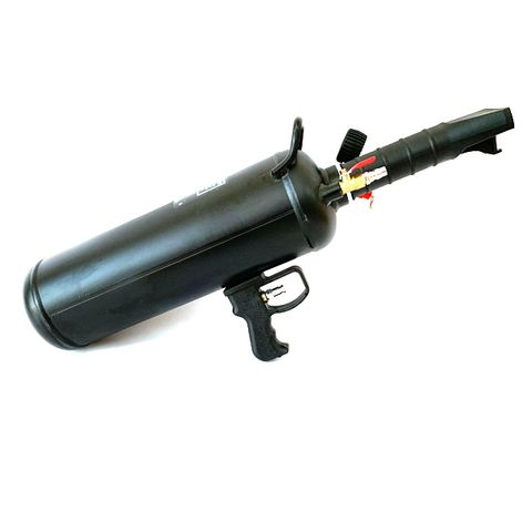 Tyre Inflator, Bazooka type bead blaster - 6 litre, with trigger release