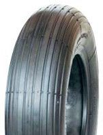 300-4 Solid Air V5501 Goodtime Ribbed Black Barrow Tyre - 50mm base width