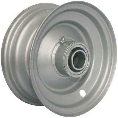 "5""x3.25"" Steel Rim, 2"" Bore, 98mm Hub Length, 2""x¾"" Flange Bearings"
