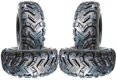 COMBO (2x ea) - 25/8-12 & 25/10-12 4PR UN713 Unilli Directional ATV Tyres