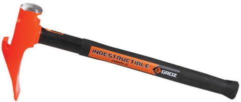 Groz Bead Breaker Hammer - 'Indestructible' Handle
