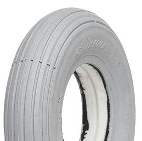 200x50 *Solid PU* TL Ribbed Grey Mobility Scooter Tyre (200-50)
