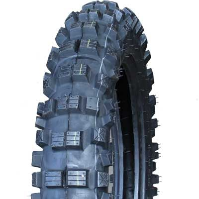 110/90-19 6PR/68L TT LS014-2 Longshine Knobby Motorcycle Tyre (LS8978)