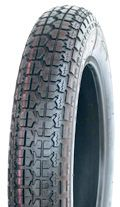350-8 4PR/46N TL V9128 Goodtime High Speed Block Scooter/Trailer Tyre (KT928)