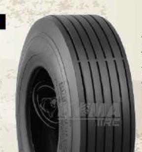 """ASSEMBLY - 6""""x82mm Steel Rim, 13/500-6 4PR K804 Multi-Rib Tyre, 16mm FBrgs"""