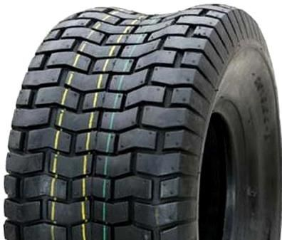 "ASSEMBLY - 4""x55mm Red Plastic Rim, 9/350-4 4PR V3502 Turf Tyre, 1"" Bushes"