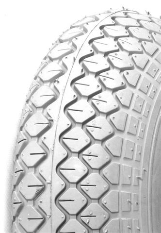 400-4 4PR IA2815 Innova Diamond Grey Wheelchair / Mobility Tyre (300x100)