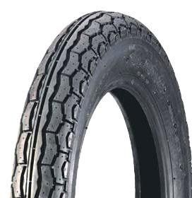 """ASSEMBLY - 8""""x65mm Plastic Rim, 2"""" Bore, 300-8 4PR P230 HS Block Tyre, 1"""" Bushes"""