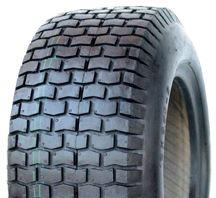 "ASSEMBLY - 4""x55mm Red Plastic Rim, 11/400-4 4PR V3502 Turf Tyre, ½"" Bushes"