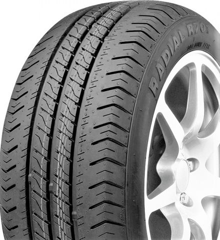 "ASSEMBLY - 10""x6.00"" Galv HD Rim, 5/4½"" PCD, 195/55R10 98/96P R701Trailer Tyre"