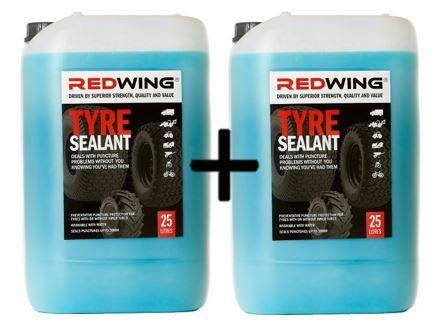 2 x Redwing Tyre Sealant 25 litre - 2 pails