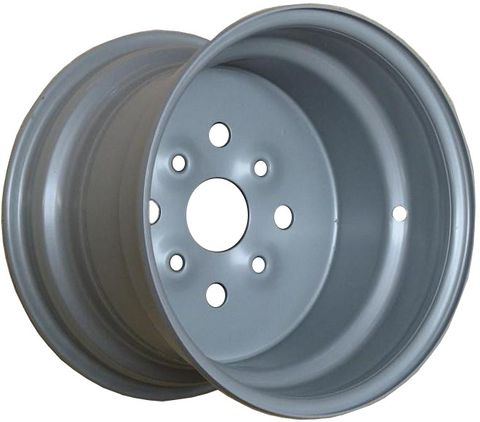 "SECOND - 11""x7.50"" Steel ATV Rim (Rear) 4/1110 PCD, 85mm bore, ET-35 - TUBE REQD"