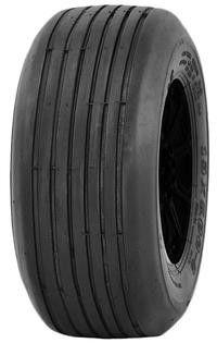 """ASSEMBLY - 6""""x4.50"""" Galv Rim, 13/650-6 4PR P508 Multi-Rib Tyre, 25mm Keyed Bush"""