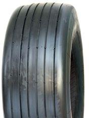 """ASSEMBLY - 6""""x4.50"""" Galv Rim, 15/600-6 6PR V3503 Multi-Rib Tyre,25mm Keyed Bush"""