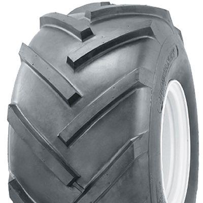 """ASSEMBLY - 6""""x4.50"""" Galv Rim, 13/500-6 4PR P328 Lug Tyre, 25mm Keyed Bush"""
