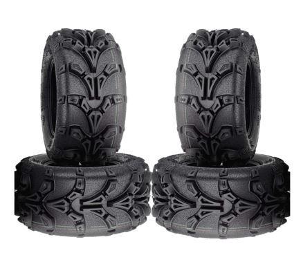 COMBO (2x ea) - 26/9-12 & 26/11-12 6PR TL Duro DI2043 R8X-Lite ATV Tyres