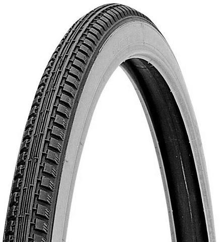 24x1-3/8 (37-540) TT Duro HF111 Road Grey Wheelchair Tyre