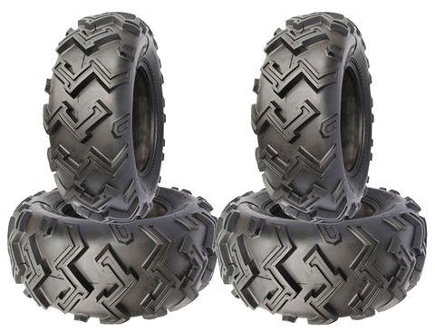 COMBO (2x ea) - 24/8-11 & 24/10-11 4PR Duro HF274 Excavator ATV Tyres