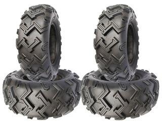 COMBO (2x ea) - 24/8-12 & 24/9-11 4PR TL Duro HF274 Excavator ATV Tyres