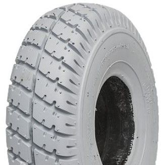300-4 *Solid PU* TL CST C9210 Grey Wheelchair / Mobility Tyre