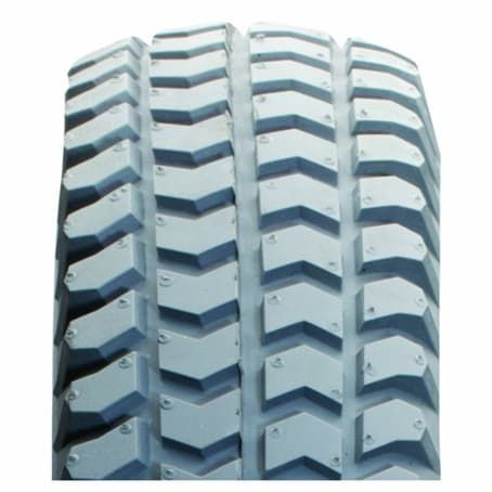 300-8 *Solid PU* TL Primo (CST) C248 Powertrax Chevron Grey Mobility ScooterTyre