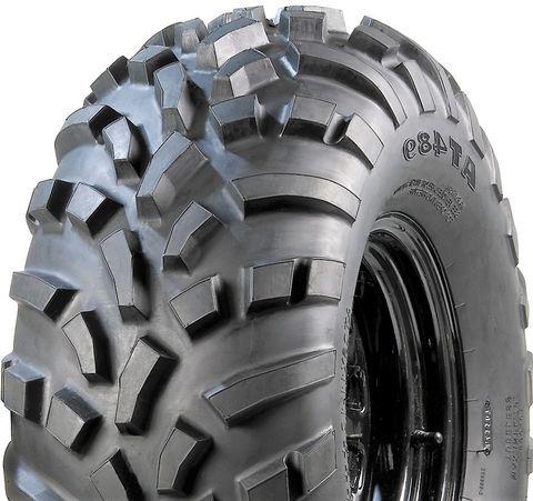 25/10-12 (255/65-12) 67K/4PR TL MST Carlisle AT489 Knobbly Directional ATV Tyre