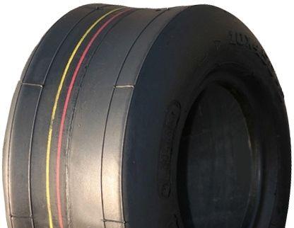 "ASSEMBLY - 4""x2.00"" 2-Pc Zinc Coated Rim, 8/300-4 4PR Smooth Tyre, 1"" Nylon Bush"