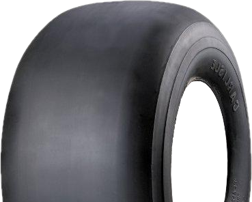 """ASSEMBLY - 4""""x2.00"""" 2-Pc Zinc Coated Rim, 9/350-4 Solid Smooth Tyre, 1"""" Bushes"""