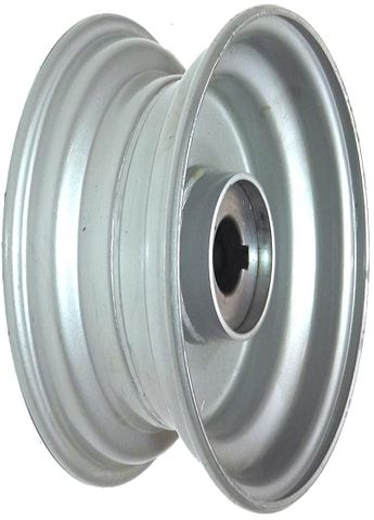 "6""x2.50"" Steel Rim, 52mm Bore, 85mm Hub Length, 52mm x 25mm Keyed & Plain Bushes"
