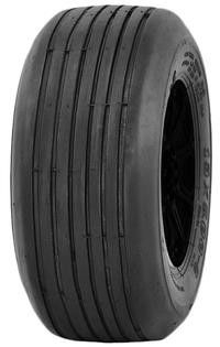 "ASSEMBLY - 6""x4.50"" Galv Rim, 2"" Bore, 13/650-6 4PR P508 Multi-Rib Tyre,¾"" Bush"